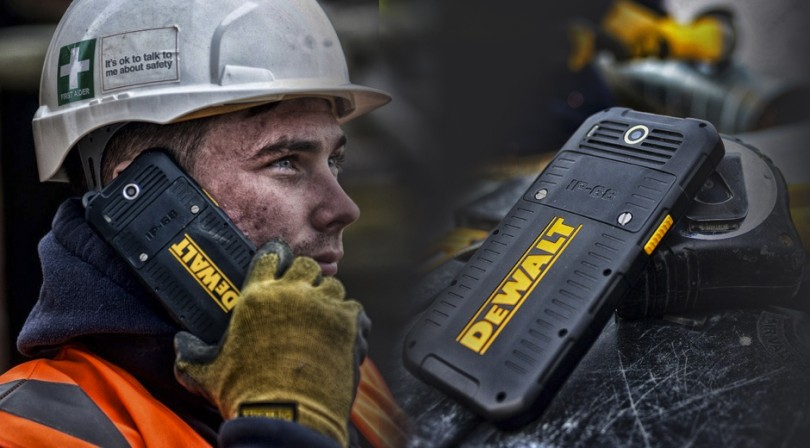 DeWALT Phone, el smartphone para la minería y construcción.
